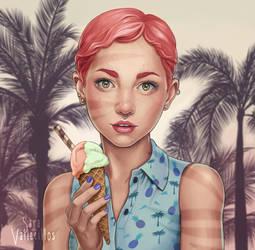 Summer Girl by saravami
