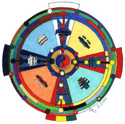 multicultural wheel by Refiner