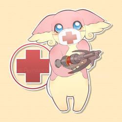 Medic Audino by okaces