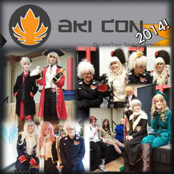 Aki-Con 2014! - COSPLAY PICS 2 by MorzeCode98