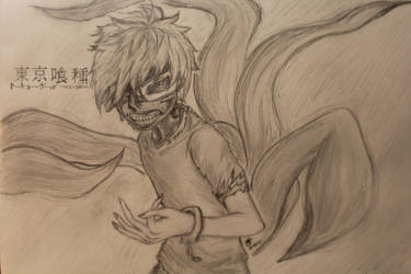 Tokyo Ghoul - Kaneki Ken by MorzeCode98