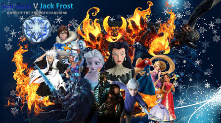 Sub-Zero V Jack Frost Dawn of the Frozen Guardians by Aikijoco