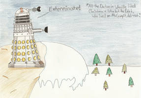 The Dalek Who Stole Christmas by LuthienNenharma