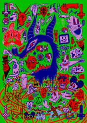 Satanic Porno Cult by 4ndr345M4rch4l