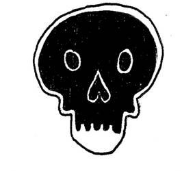 Black death face by 4ndr345M4rch4l