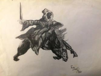The dark rider by orzak