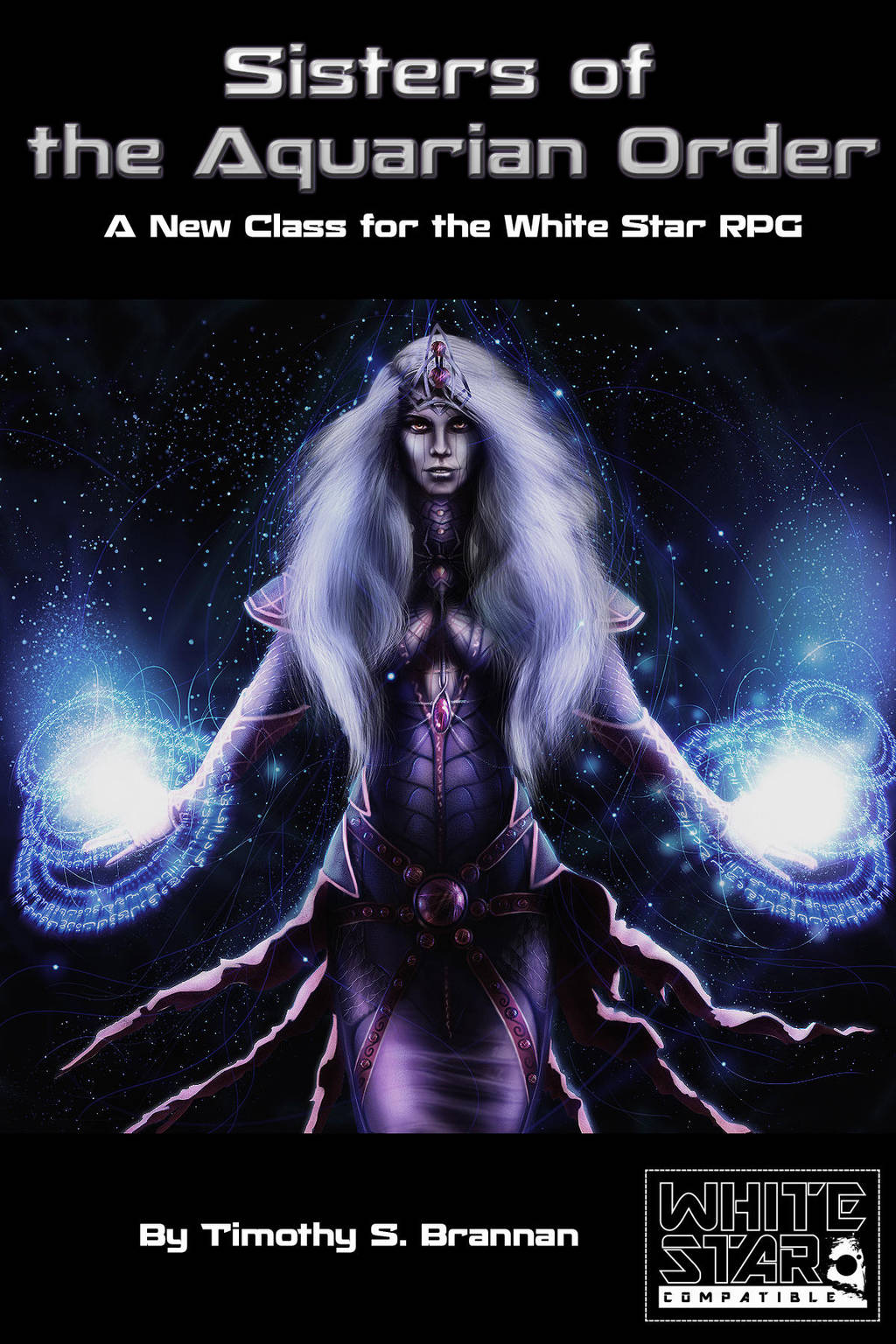 Sisters Of The Aquarian Oder Cover A by WebWarlock