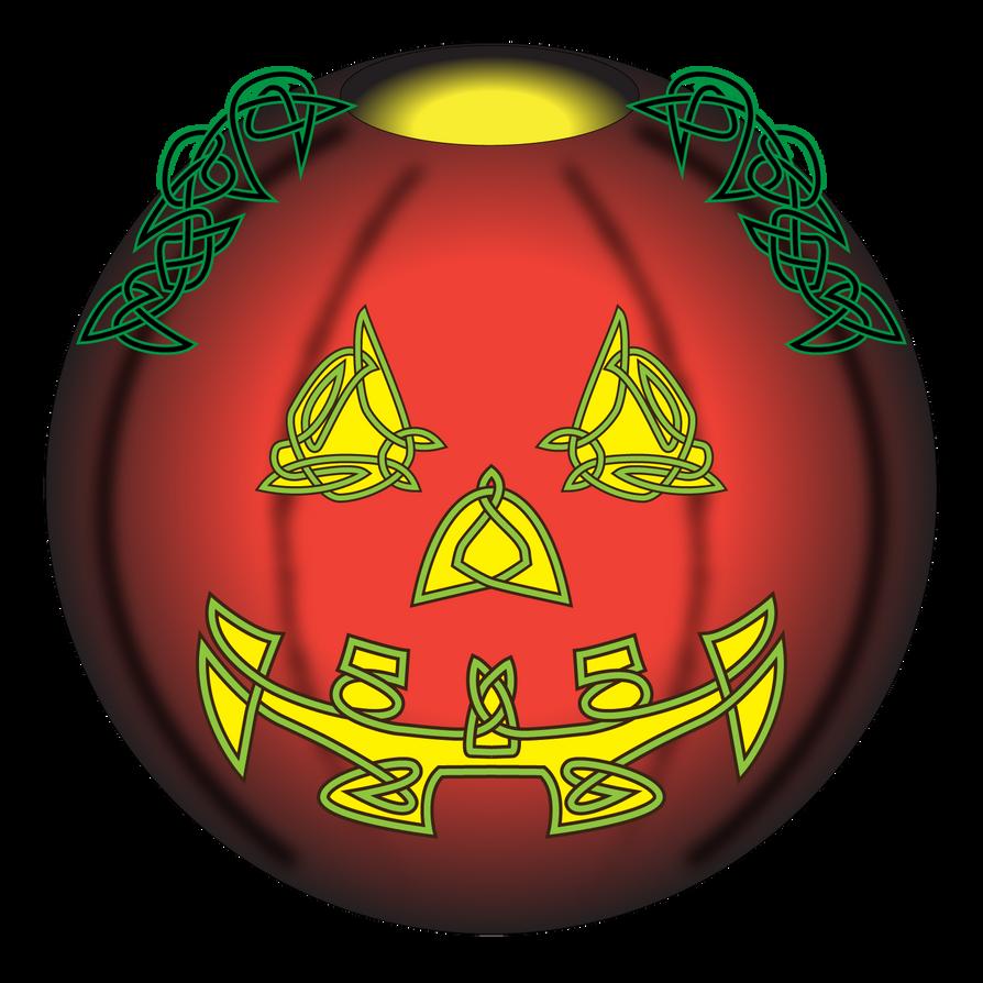 Celtic-Jac-O-Lantern by knottyprof