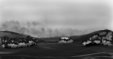 Landscape1-grey by knottyprof