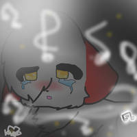 :::SpeedPaint:::: Don't Cry Song by Eevezinha2011