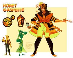 FUSION - Honey Gaspeite by CharliOak