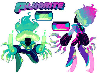 REFERENCE - Fluorites by CharliOak