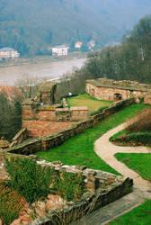 Heidelberg Castle by apolloslyre