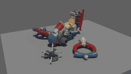 Hoovercraft for HDRI 01 by Karuma