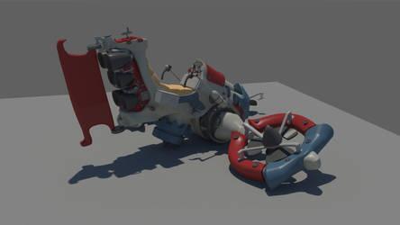Hoovercraft for HDRI 02 by Karuma