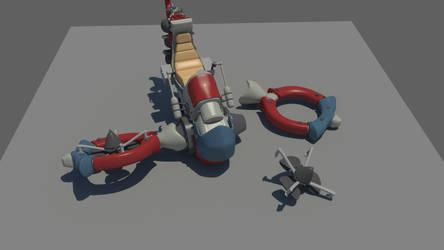 Hoovercraft for HDRI 03 by Karuma