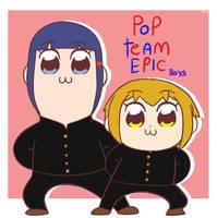 Pop Team Boys by Jazzyponies