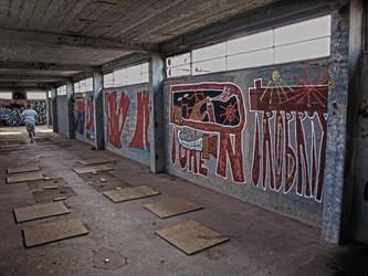 Dark graffiti style by yourse