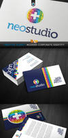 RW Creative Agency Modern Corporate Identity by Reclameworks