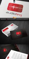 RW AudioTeq Premium Corporate Identity by Reclameworks