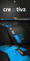 RW Creativz Design Agency Corporate Identity by Reclameworks