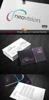 RW NeoVision Design Studio Corporate Identity by Reclameworks