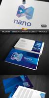 RW Nano Agency Modern Corporate Identity by Reclameworks