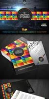 RW Creative Studio Corporate Identity by Reclameworks