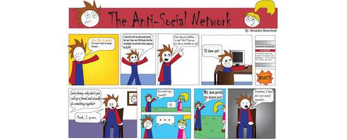 The Anti-Social Network by silentmotives