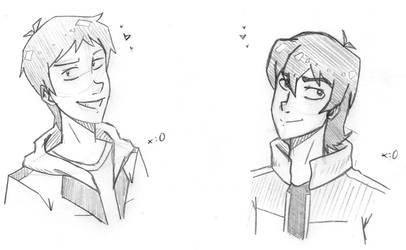 Lance and Keith by lRUSU