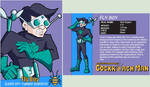 Fly Boy bio card by N-ZERO