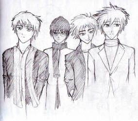 Not a boyband by count-irumi