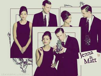 Jenna and Matt by shesguiltybydesign