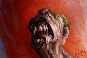 Freaky misshaped geezer by RogerStork