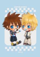 Kingdom Hearts - Popsicles by kotori-chan