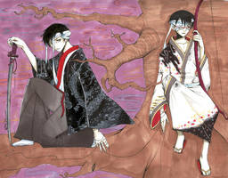 Watanuki and Doumeki by kotori-chan