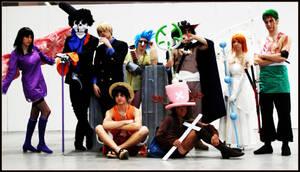 One Piece cosplay group by Mugiwara-Nakama
