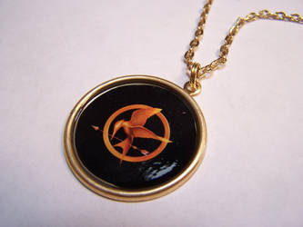 hunger games pendant by Bright-Circle