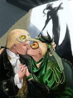 Lucius and Narcissa by kissyushka