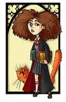 Hermione Granger by kissyushka