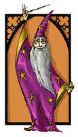 Albus Dumbledore by kissyushka