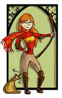Ginny Weasley by kissyushka