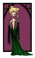Narcissa Malfoy by kissyushka