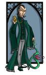 Salazar Slytherin by kissyushka