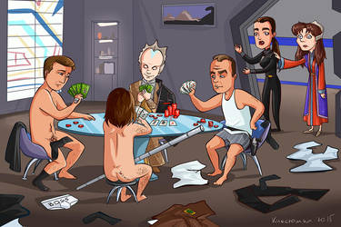 Strip poker by kissyushka