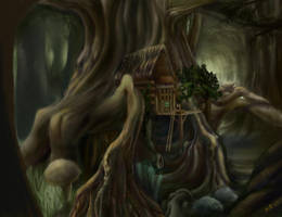 treehouse by human-brain