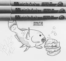 Parrot Fish by natasian