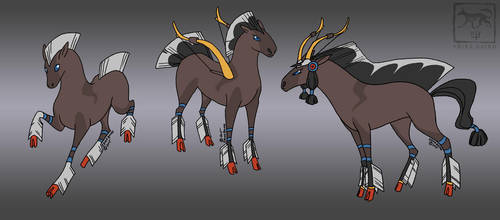 Fakemon Pets: Nockinghorse by Starhorse