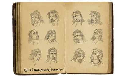 Expression sheet: Tiago by Starhorse