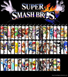 Super Smash Bros for Wii U and 3ds 15th Update by SmashLegacy